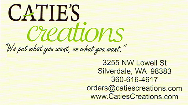 Catie's Creations Address